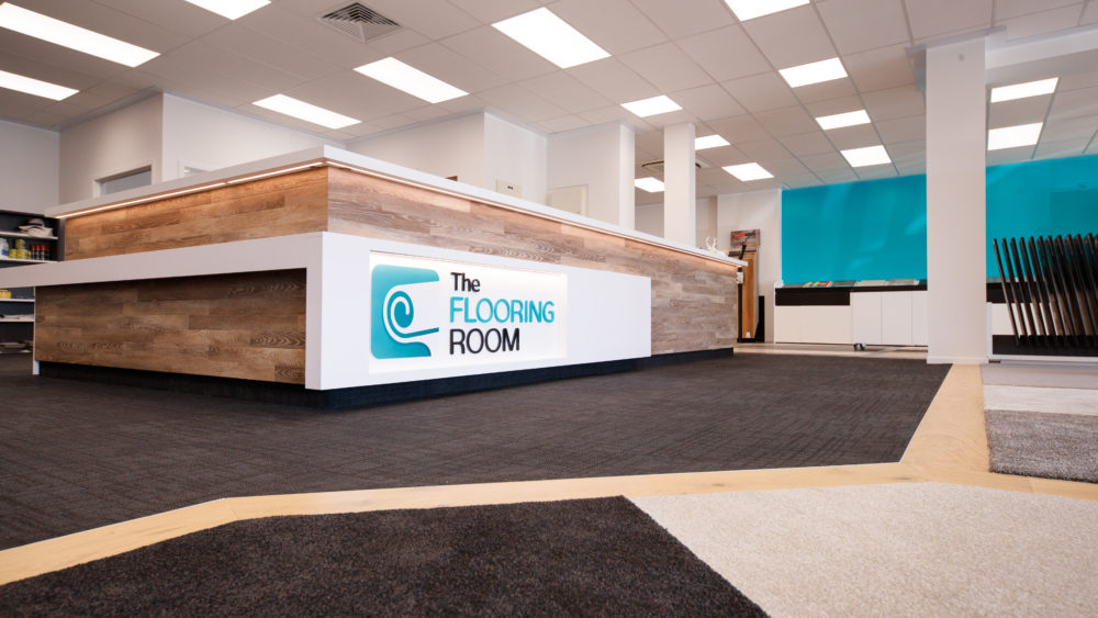 The Flooring Room Palmerston North showroom carpet samples