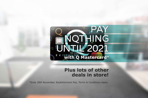 Pay nothing until 2021